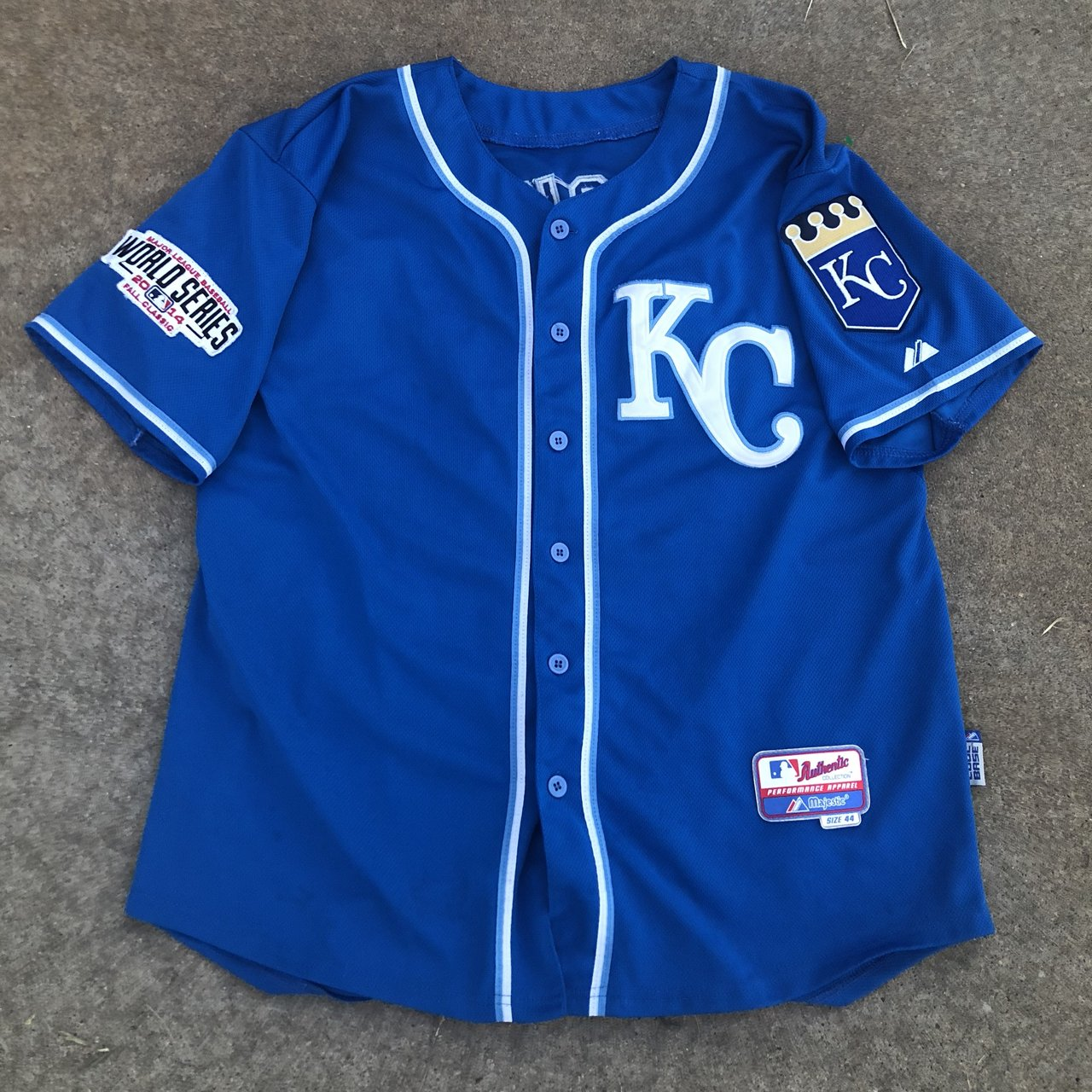 Kansas City Royals 2014 World Series Bo Jackson Throwback L. - Depop ae923df98