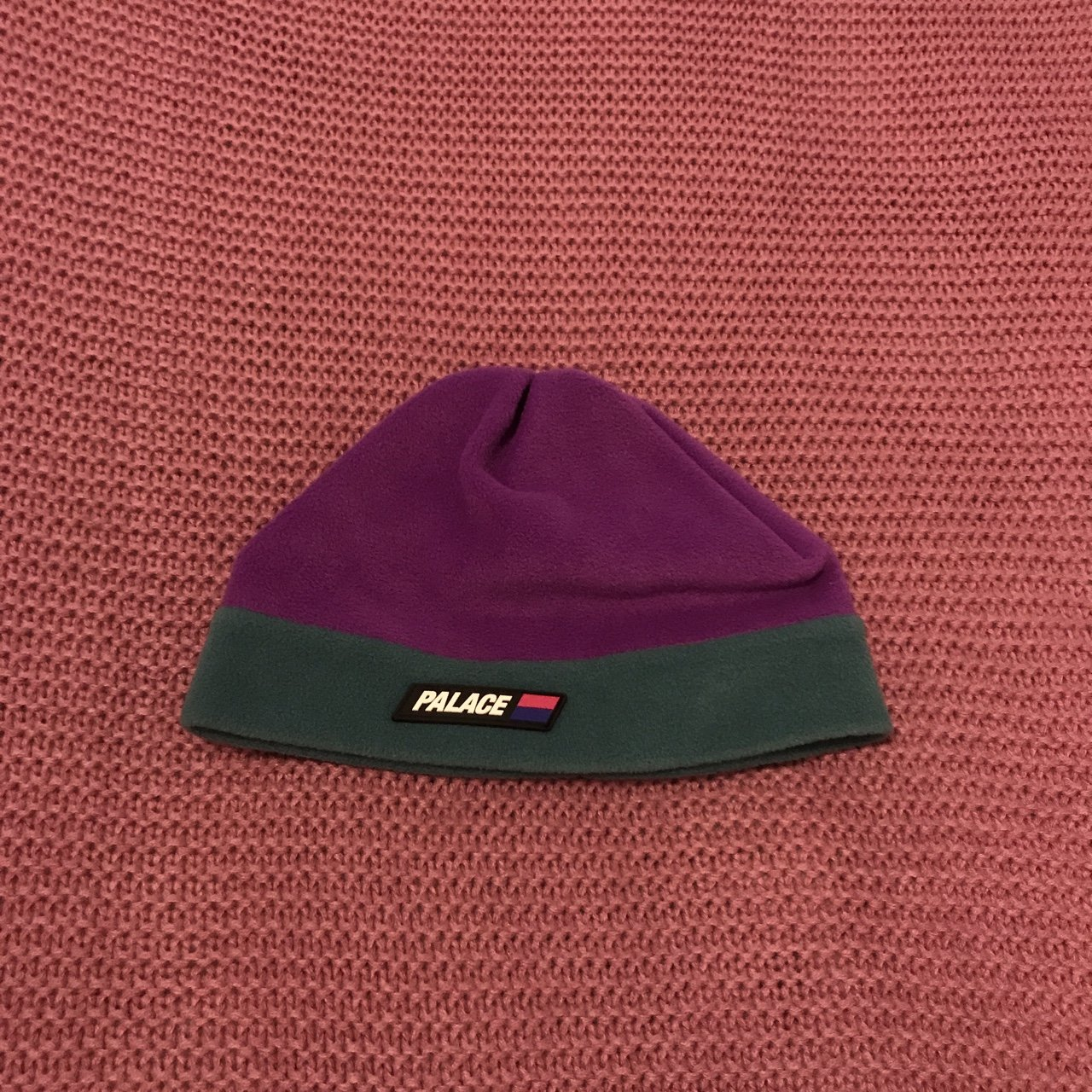863eeef4937 CAN T POST UNTIL EASTER Palace purple and green fleece Size - Depop