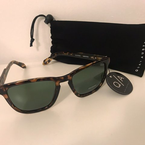 9cd69356a6 Quay Australia Polarized Turquoise Sunnies Brand new with + - Depop