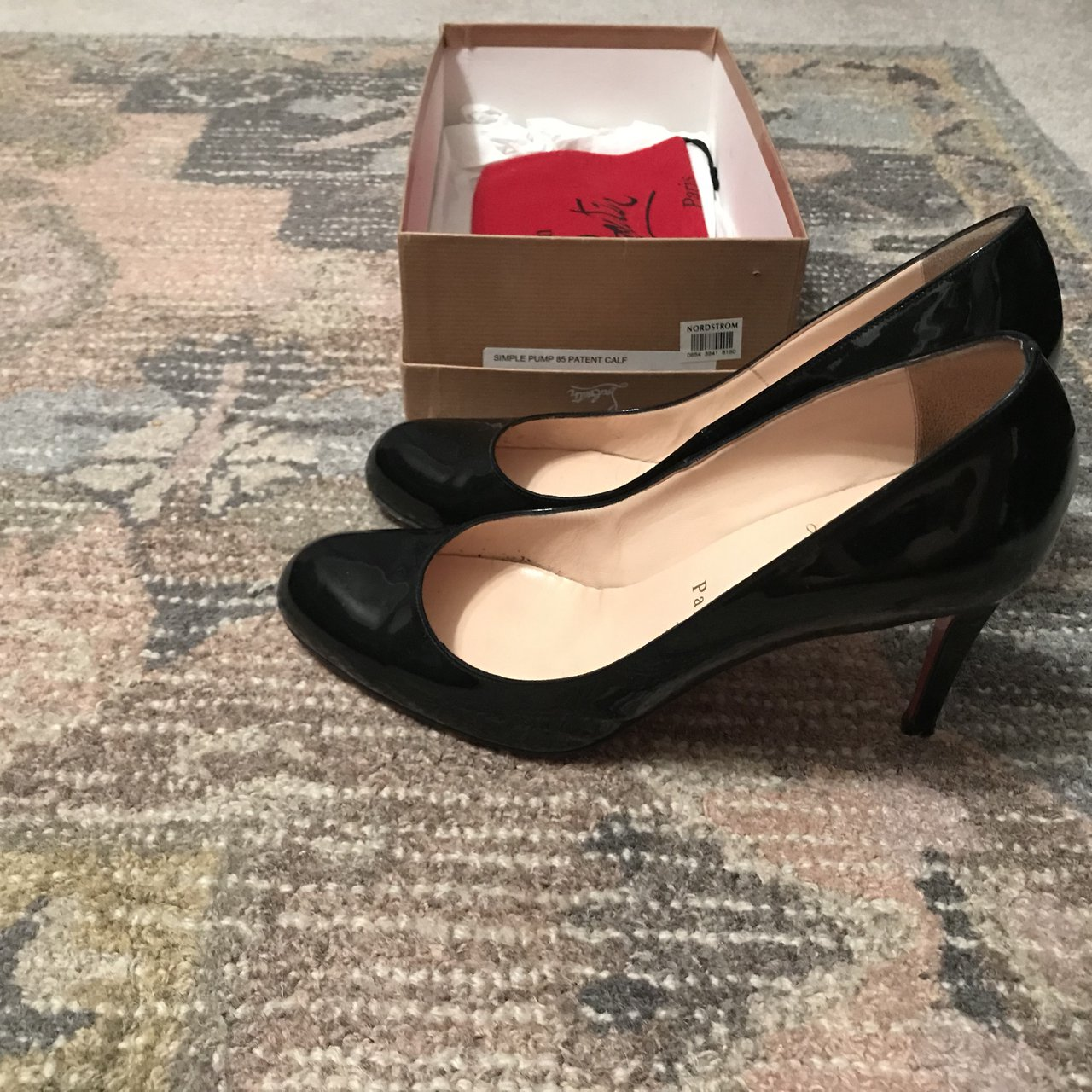 02b6d8afb24d Christian Louboutin size 39(8.5) heels  350. I have only 3 I - Depop