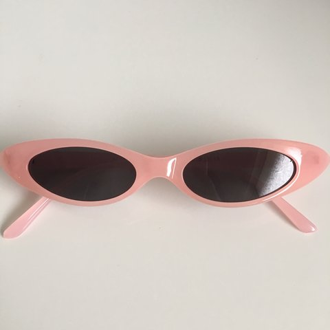 3f17606566 Baby pink cat eye sunglasses FREE SHIPPING £2 MULTIBUY TO - Depop