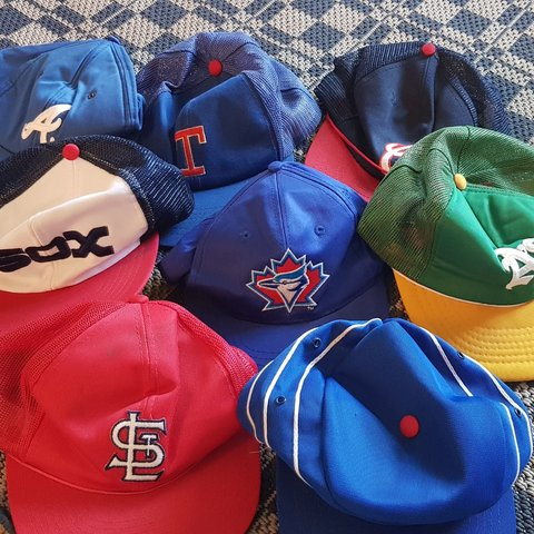 80 s  90 s Snapbacks. Bundle of 8. Most in top condition. - - Depop b6319b4f3f2