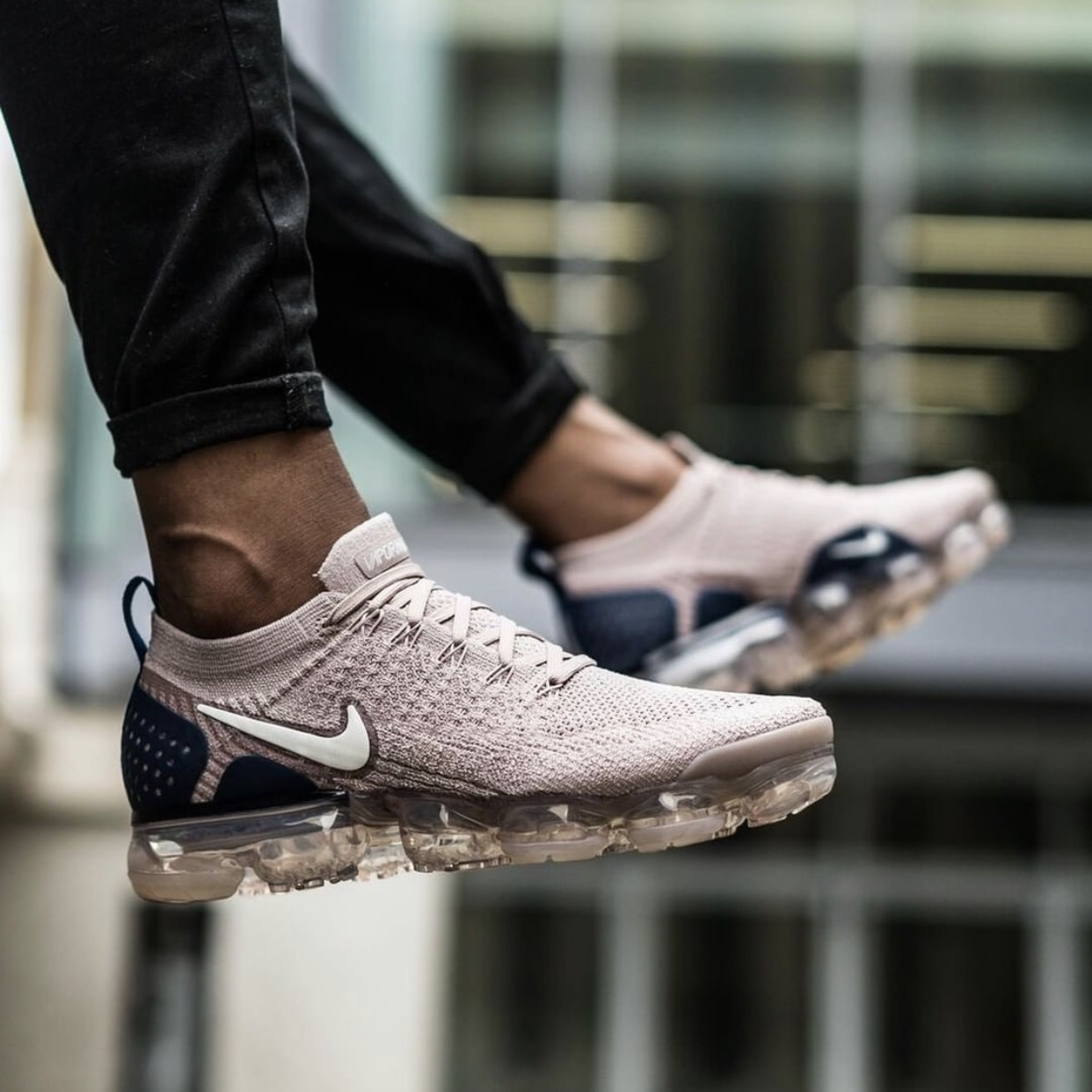check out 3d53b f02d1 Nike Air Vapormax Flyknit 2 Diffused Taupe - Size... - Depop