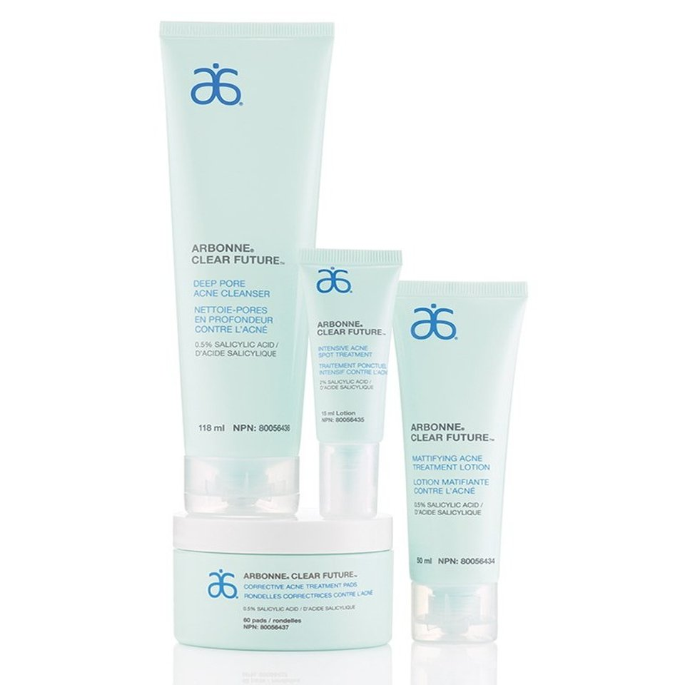 arbonne clear future range