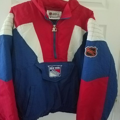Vintage New York Rangers Starter Jacket Extra Large. Double - Depop fefe157522