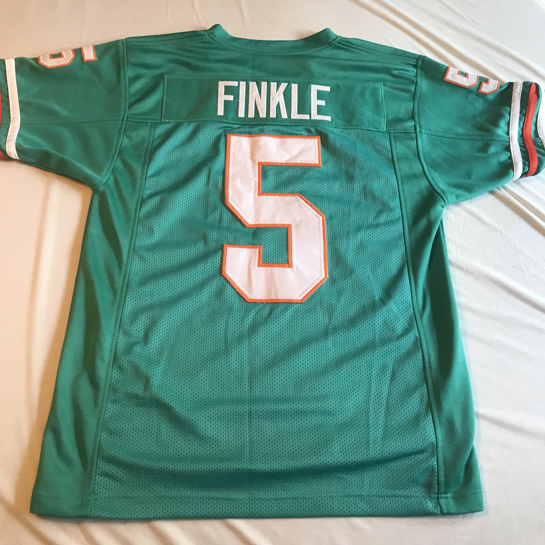 54c92d20 Vintage vtg Ray Finkle Miami Dolphins jersey. From... - Depop