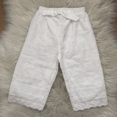a36f418b zara girls brand new without tags white broderie anglaise 💕 - Depop