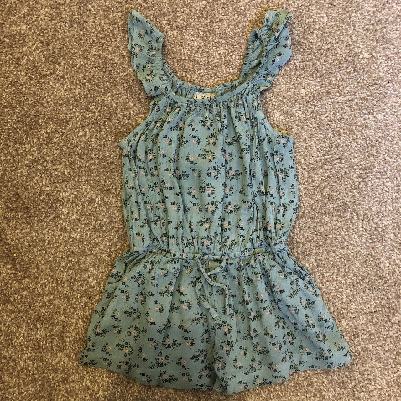 Clothing, Shoes & Accessories Girls' Clothing (sizes 4 & Up) Next Girls 3yrs Green Floral Sundress