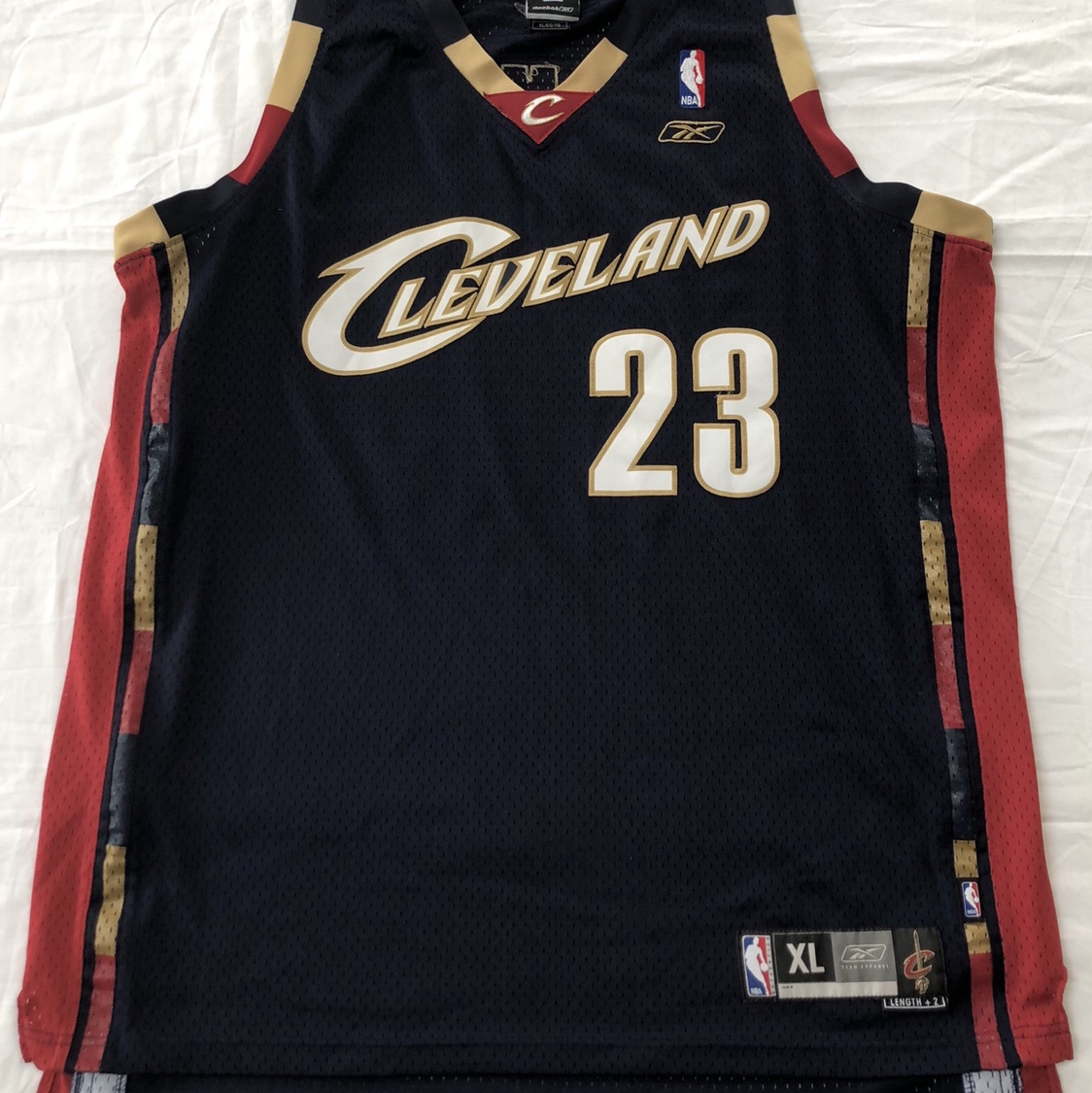 new product d824e 3bc88 Cleveland Cavaliers LEBRON JAMES jersey. From the ...