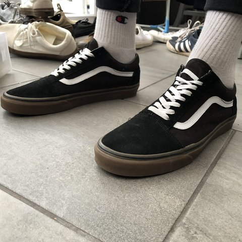 890ed8ad6f SHIPPING INCLUDED IN PRICE    Old skool vans Size- UK - Depop