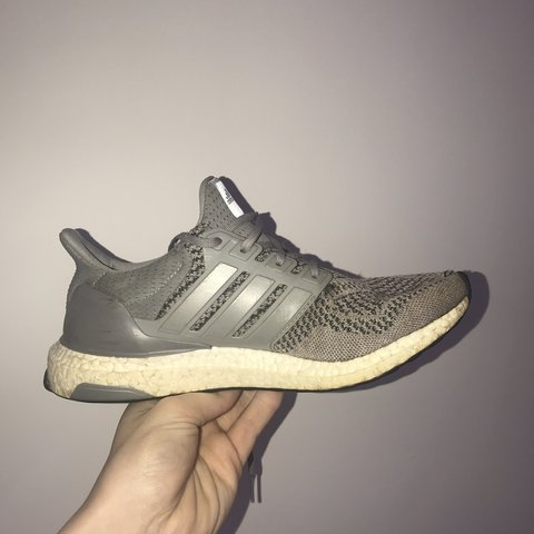 fe0daadf8f617 Ultra boost 1.0 Wool grey in 7 10 condition. Going for £200+ - Depop