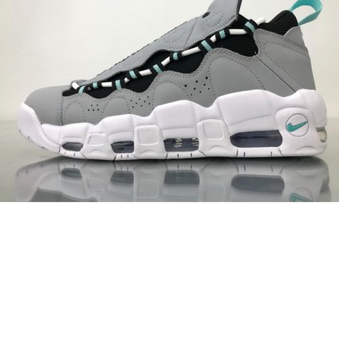 low priced dbc54 ca3e2  beautyandtheboss. last year. Baton Rouge, United States. Dazzling Nike Air  More Money 96 QS Get Money Wolf Grey Island Green Black ...