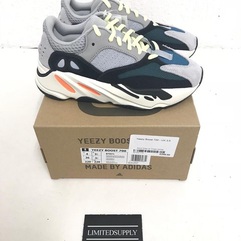 3af1857dbcb51 Adidas Yeezy 700 waverunner All sizes available Sizes 3.5 - Depop