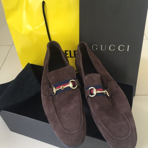 554ed951582 Gucci loafers size 8 Never been worn New Comes with box - Depop