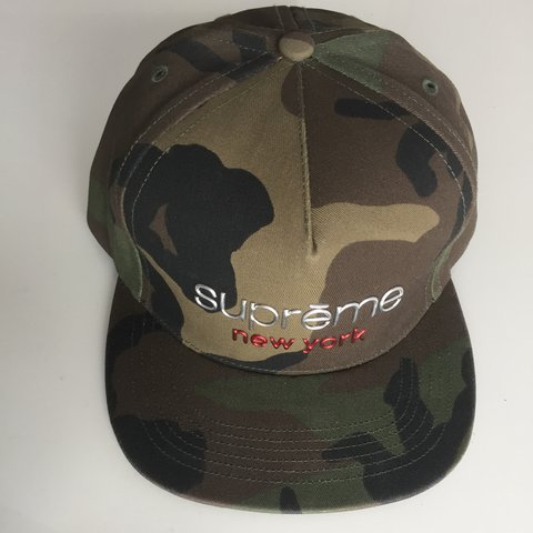 047d40e5 Supreme Camo cap. Bought from Supreme store couple years - Depop