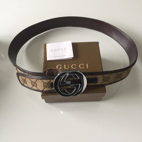 af097be6925 Gucci belt. authentic. Size 32-36. Had for 9 years. Hasnt in - Depop