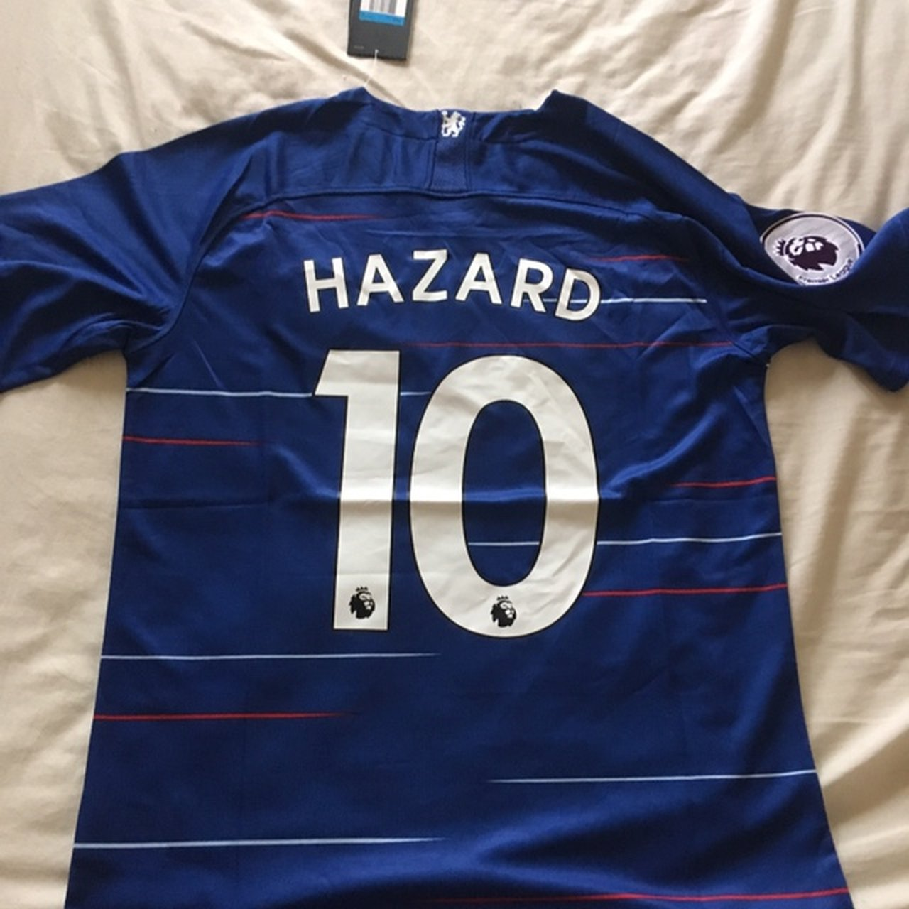 Chelsea hazard Shirt Sized Medium Brand new with tags - Depop 7bc1f9040