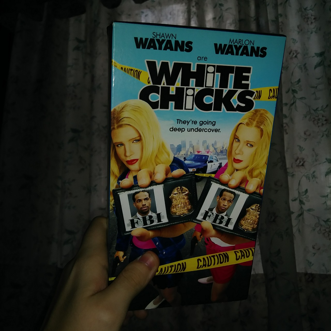 white chicks movie VHS tape! good condition, plays    - Depop