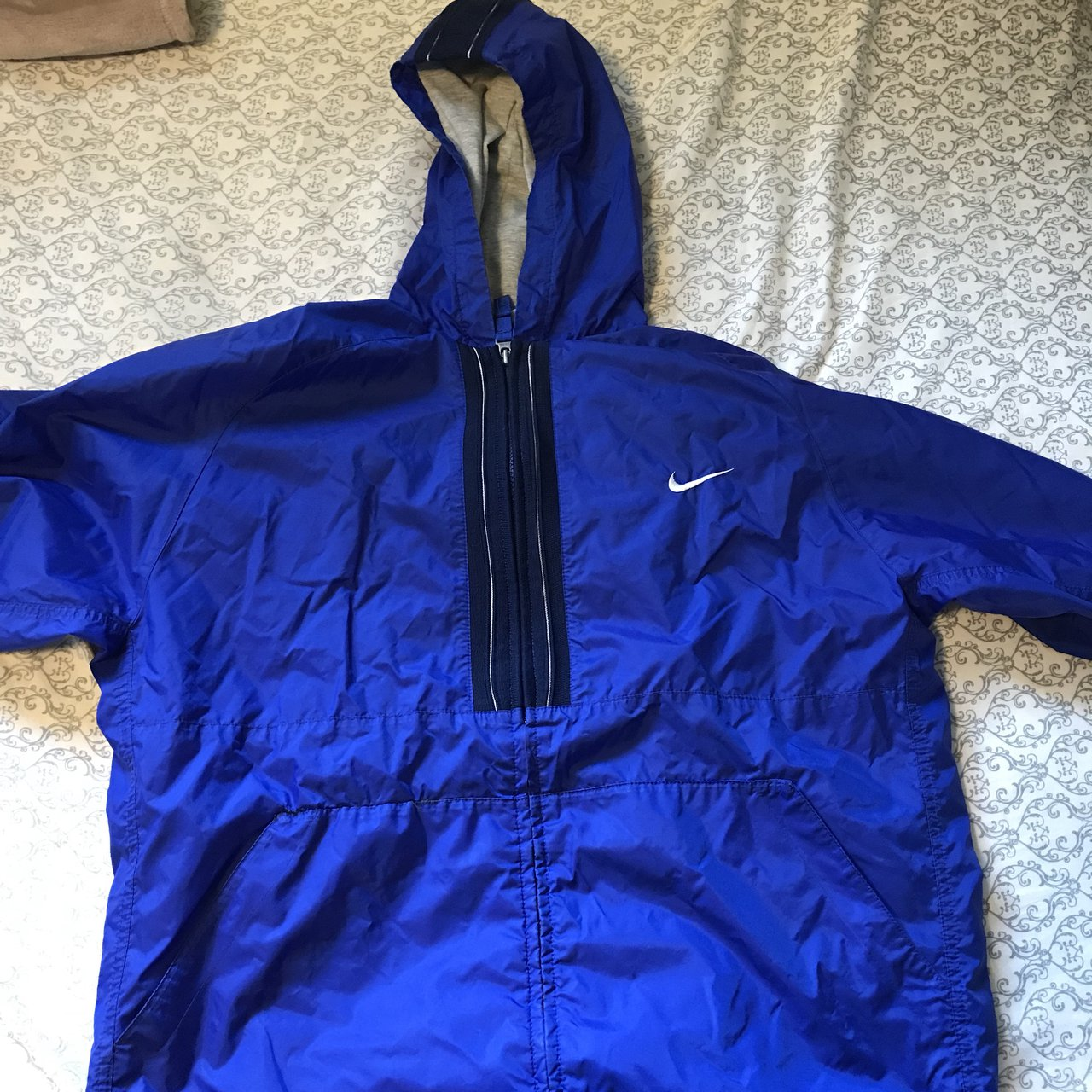 a7103af861ab  kailimiabrooks. last year. United States. Vintage royal blue Nike  windbreaker ...