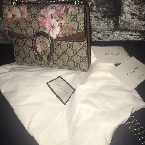 54f85a11937 GUCCI Dionysus Blooms bag. 100% AUTHENTIC and comes with and - Depop
