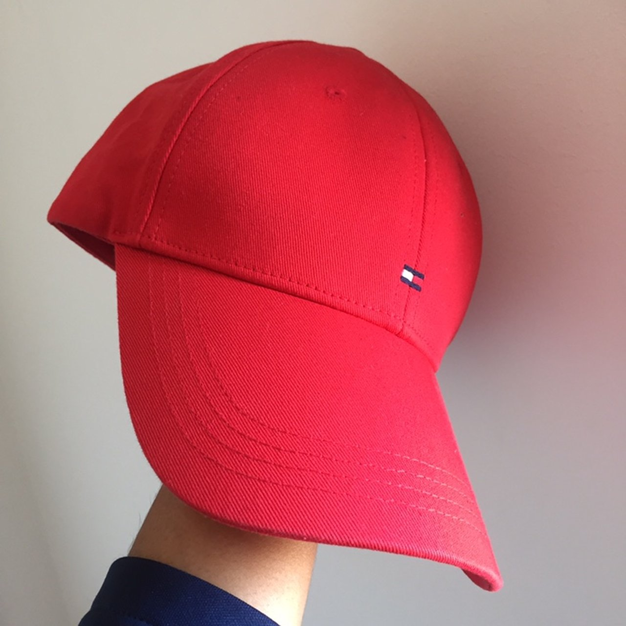 ❤️Tommy Hilfiger Cap❤ Size  ONE SIZE Condition   red  hat - Depop 11e1ac8aada