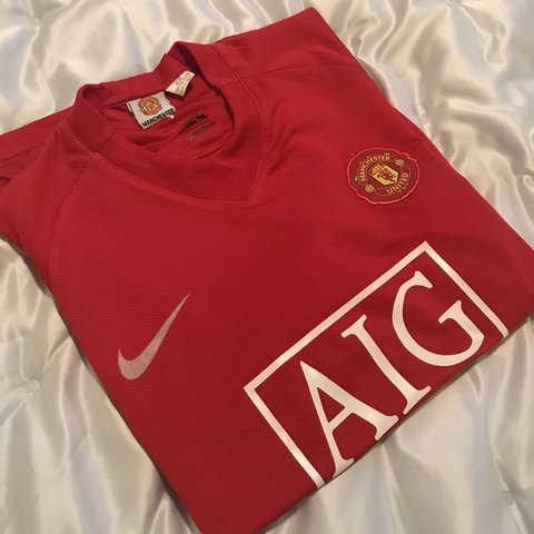 4d734afd2 @drtysouththrifts. last year. East Point, United States. Nike official👍🏽 Manchester  United Cristiano Ronaldo jersey🔥