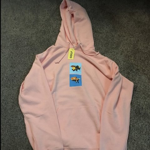 825079c72341 Golf Wang Hoodie Pink Tyler the Creator and Vince Staples To - Depop