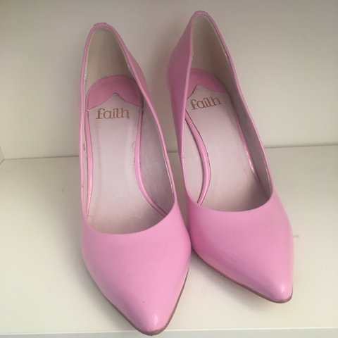 ce0f1aeeb0 Faith baby pink court shoe• Good condition. £14 postage 👠 - Depop
