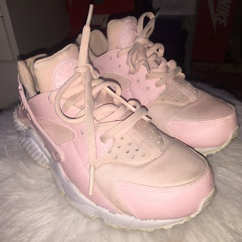 fbf9c40c6a34f Custom baby pink Nike air huaraches Price  30❗️Original in - Depop