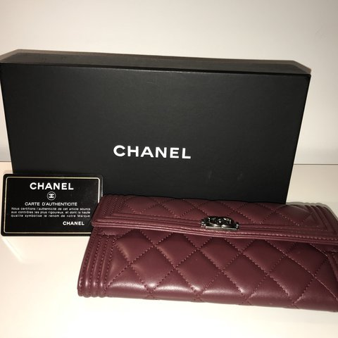 840d5eab530a A complete classic... This beautiful Chanel Flap Long is a - Depop