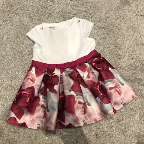 71022aa6c Baby girl ted baker dress 3-6 months. Worn once for a  pink - Depop