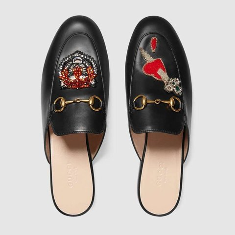 ce69baddb43 2018 Gucci Princetown Loafers🤩 Only been worn a of are - Depop