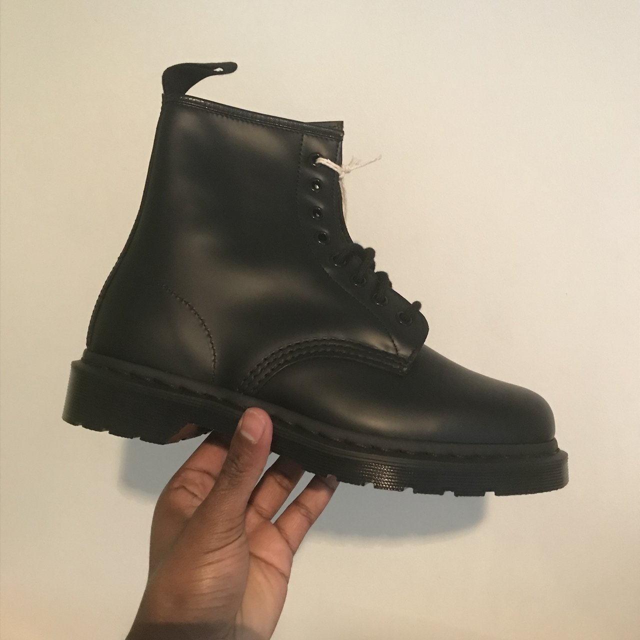 Dr martens 1460 mono - All black - Size  7 - Brand new and - Depop 1bee63e2b886