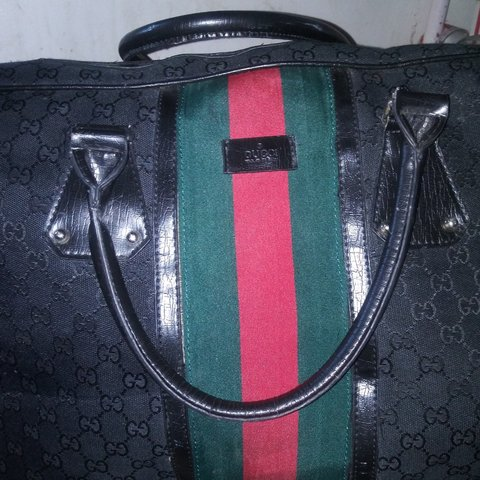 7461b4559779 @blaze187. 12 hours ago. 52nd Street, Kenosha, Wisconsin, US. Authentic  vintage Gucci duffle bag. Riped by my step mother ...