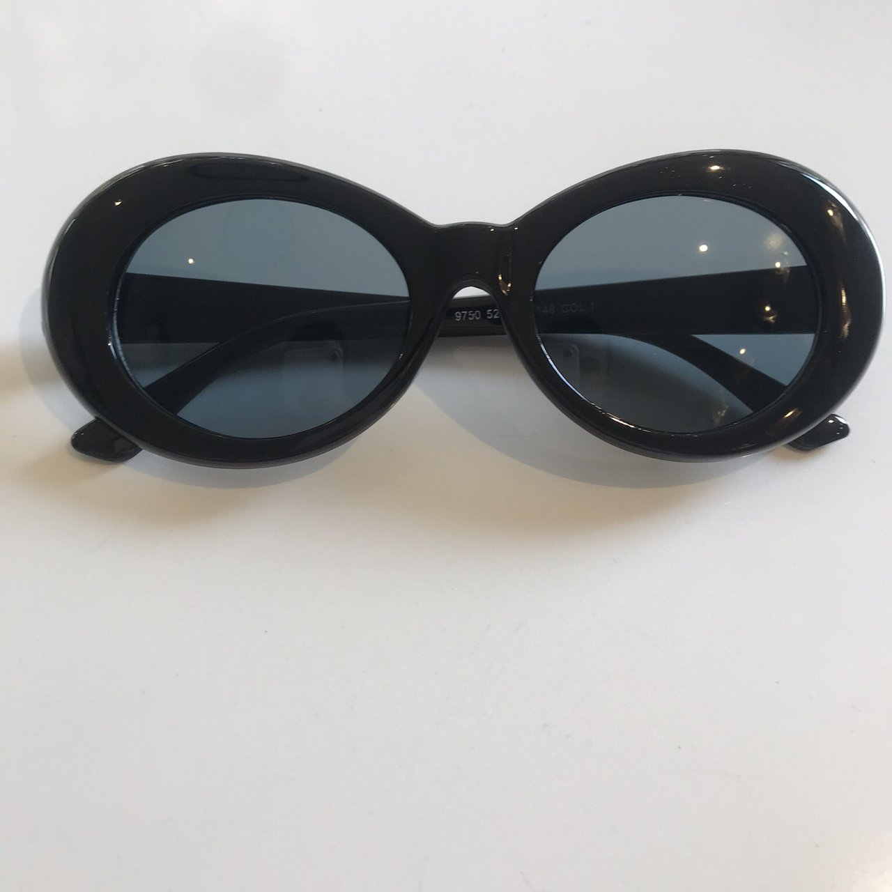 cd36b78fc4 Brand New Black Clout Goggles Kurt Cobain Style Great in - Depop