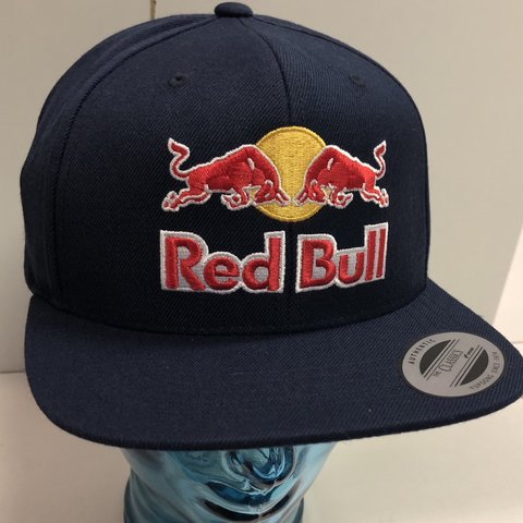 5d9b469a06e DeadStock RedBull SnapBack!! Featuring two intricate logos - Depop