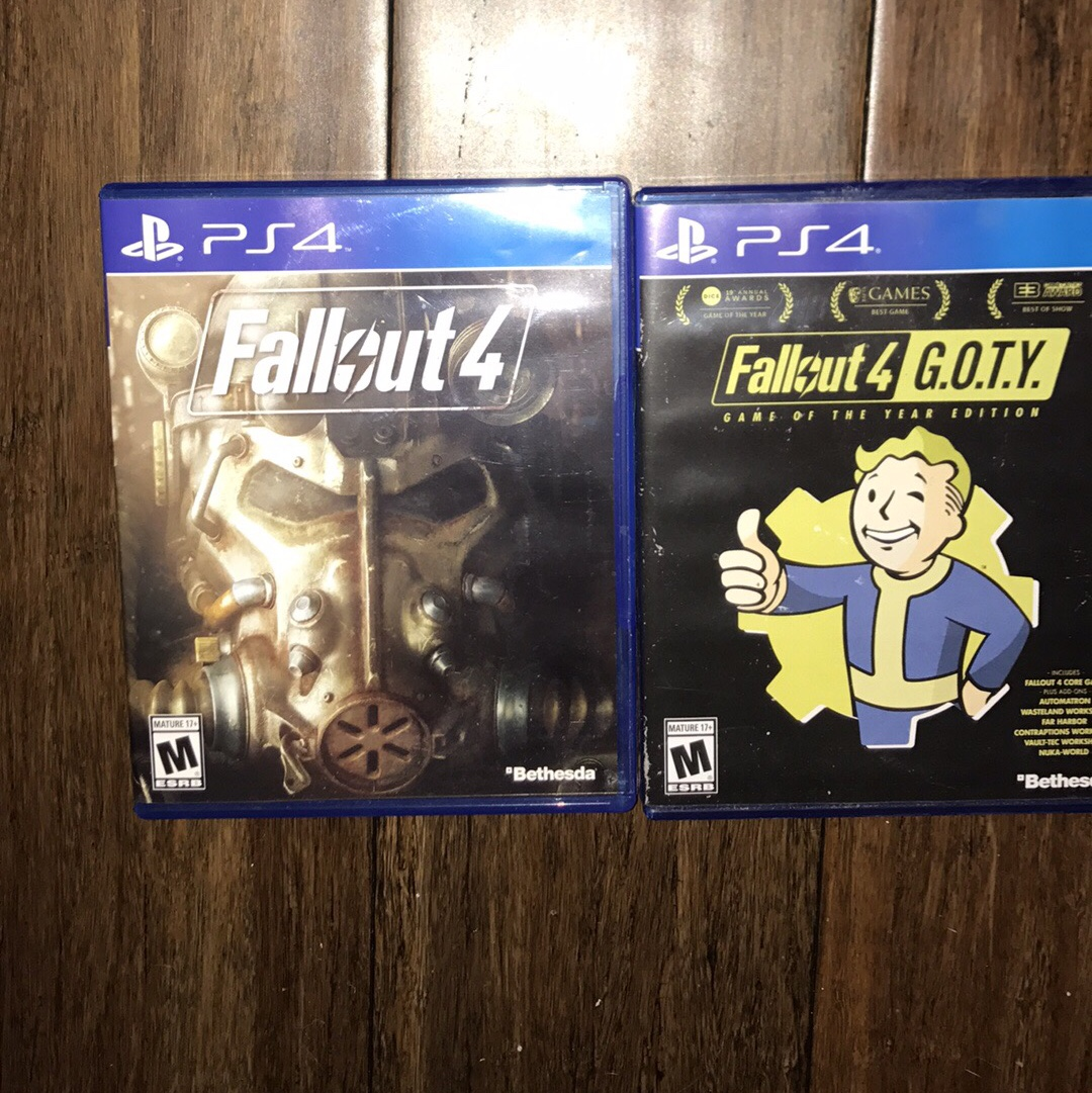 Fallout 4 + Fallout 4 G O T Y  Video Games for PS4 - Depop