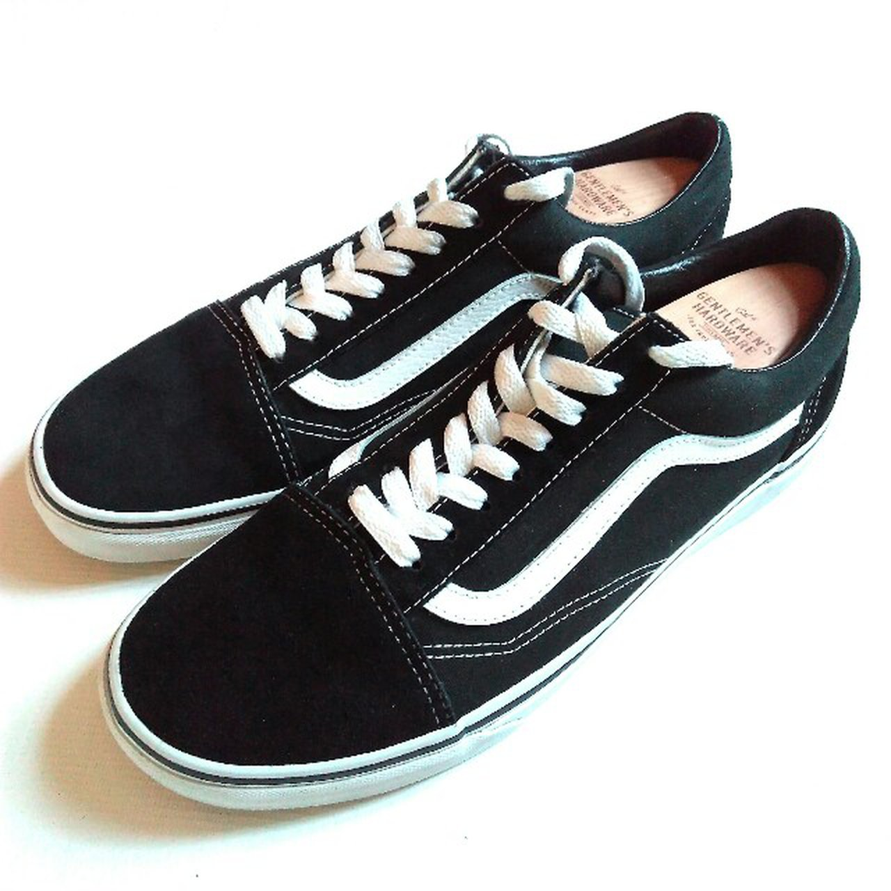For sale (no swaps) here we have a pair of WORN ONCE Vans in - Depop 5b5751239