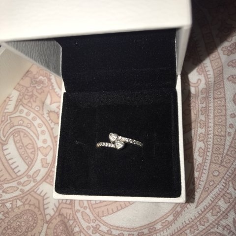 852fd8637 @al1239. 4 months ago. Matlock, United Kingdom. pandora forever hearts ring  size 52 good condition as ...