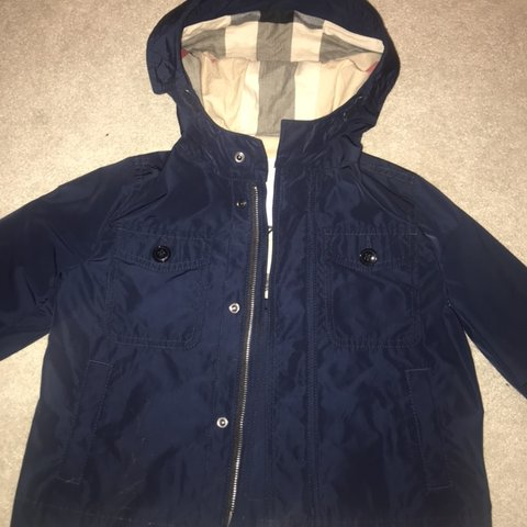84e8ecc9b @nicola060779. 3 months ago. Hamilton, United Kingdom. Boys Burberry jacket  worn twice brand new ...