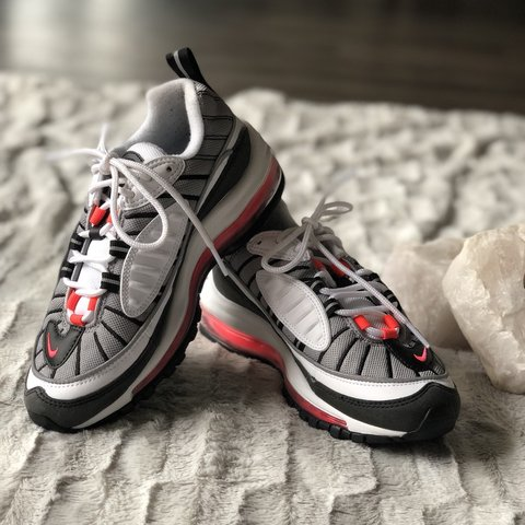 1c7dec3e8b @gyungster. 8 months ago. Houston, United States. NWT Nike Air Max 98 in 'Solar  Red' ...