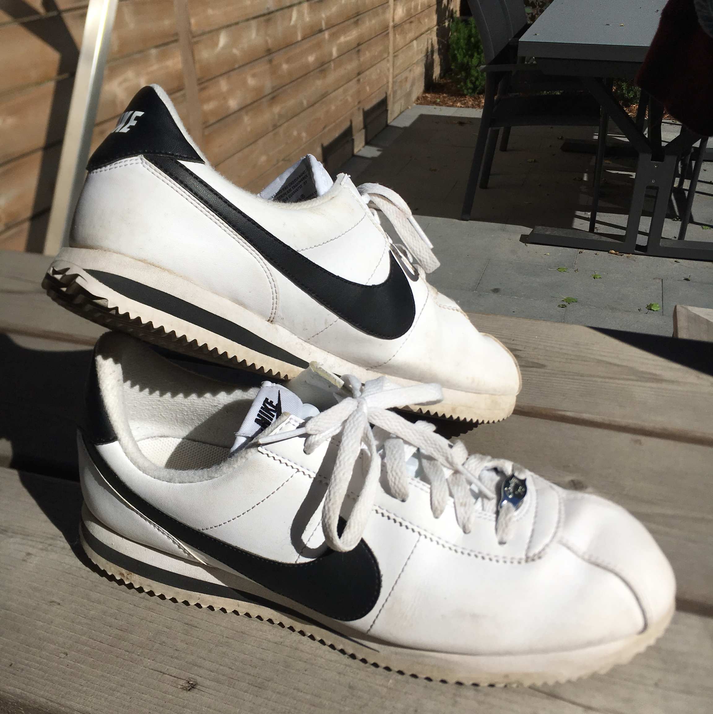 Great condition Nike Cortez shoes Only