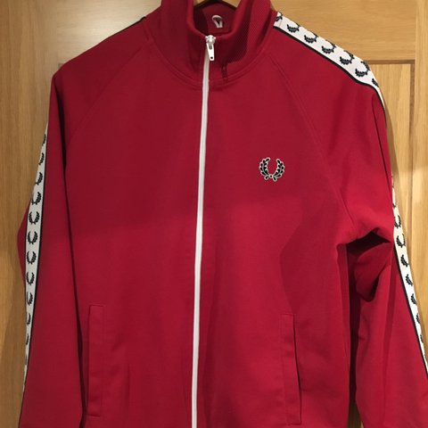 Tracksuits & Sets Fred Perry Tracksuit Top Size Small Red