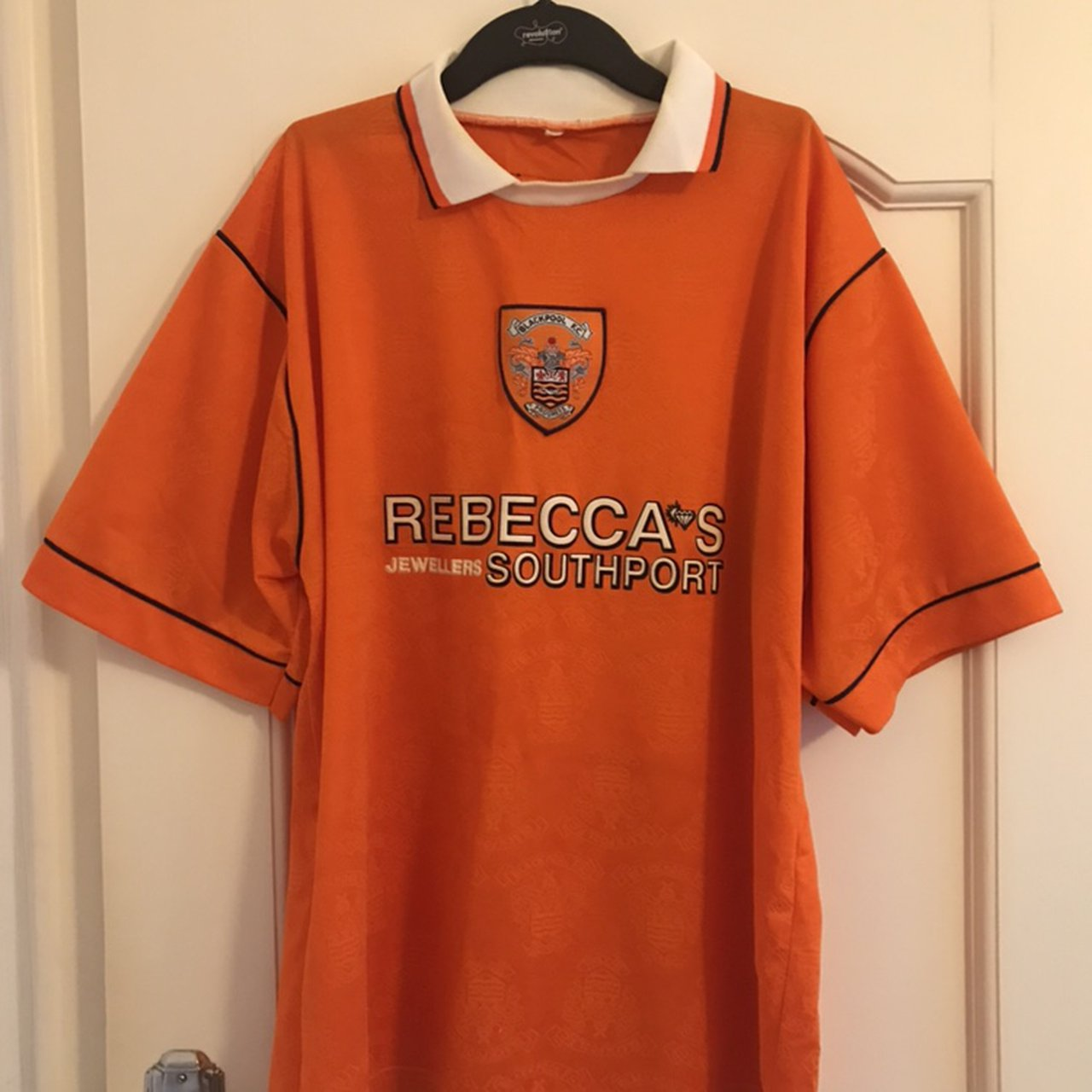 Blackpool Fc 1995 1997 Home Shirt Size Extra Large Depop