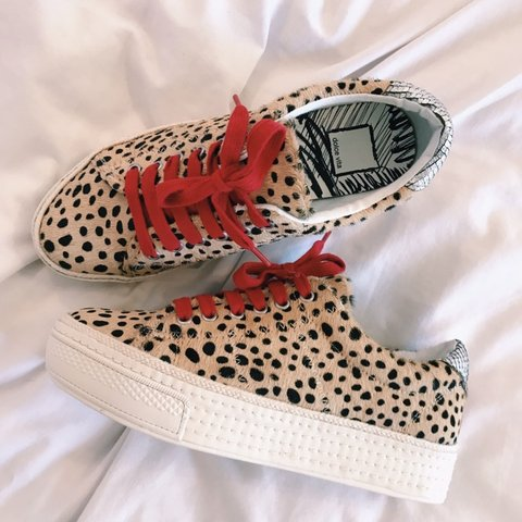 7fac1532b72 ON VACATION will ship 1 7 Size 6.5 cheetah print Dolce a - Depop