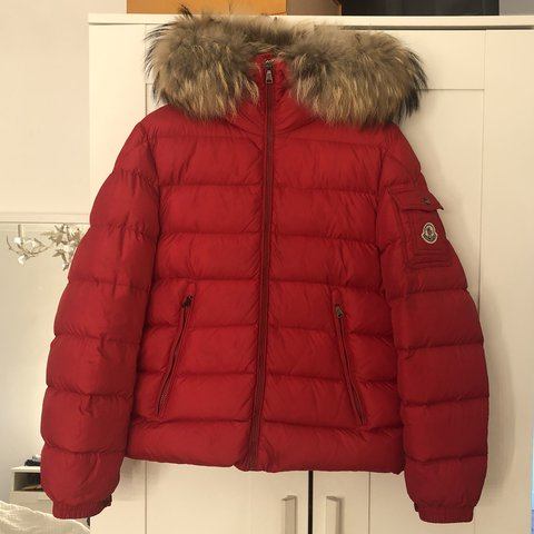 moncler red byron