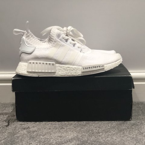 70f2d10d0 Adidas NMD R1 Japan Triple White (Prime Knit) Brand new