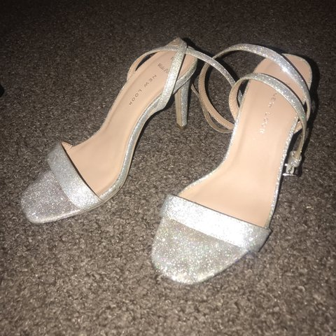 caef94c930965 @nicole_quigley. 24 days ago. Newcastle Upon Tyne, United Kingdom. Stunning Silver  Glitter mid heels from New Look💍 So comfortable and only worn once ...