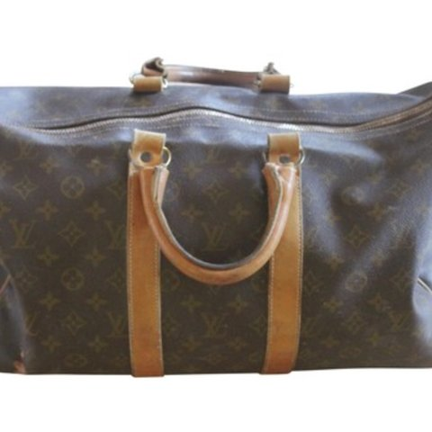b1454a1d7fbb Authentic Vintage Louis Vuitton Keepall 45. This bag has in - Depop