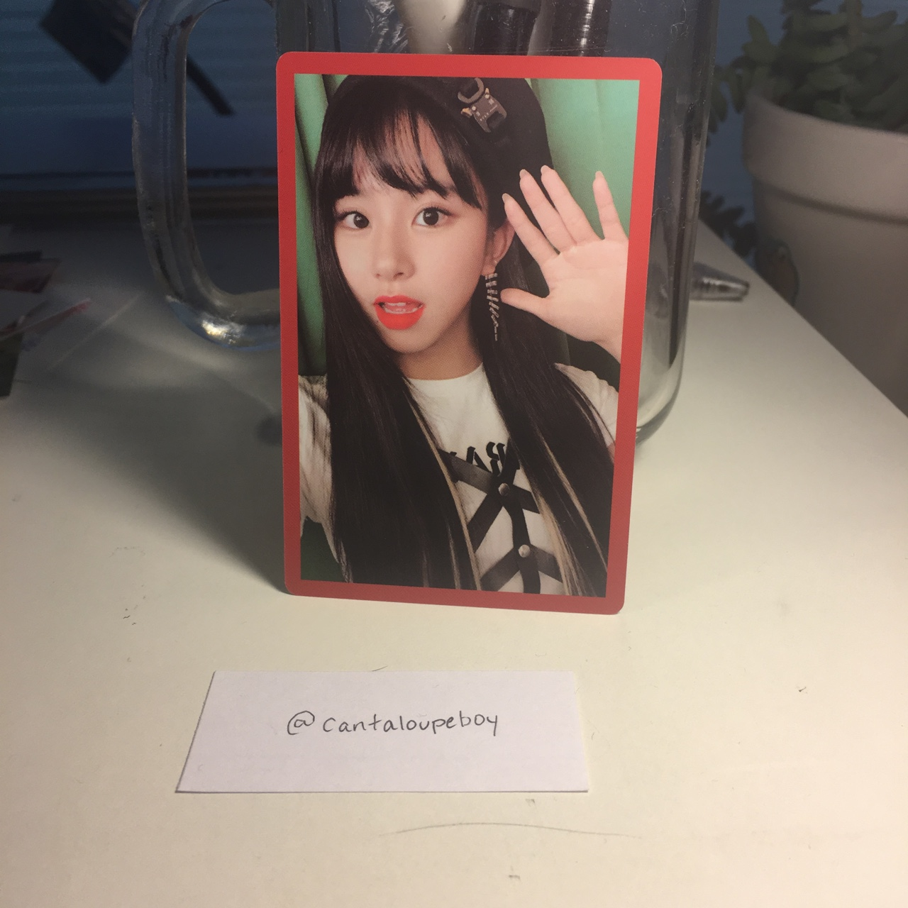 "twice ""yes or yes"" chaeyoung photocard -perfect    - Depop"